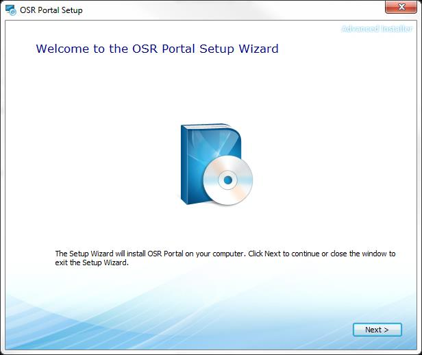 Installing OSR Portal 4.6 1. Make sure you have administrative access to SQL Server.