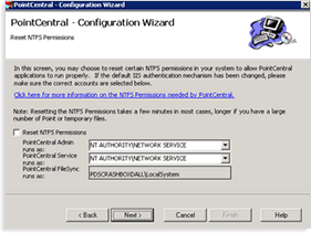 complete the PointCentral Configuration Wizard. Additional Information PointCentral 8.0 utilizes a MyCalyx Digital Key to manage users and licenses.