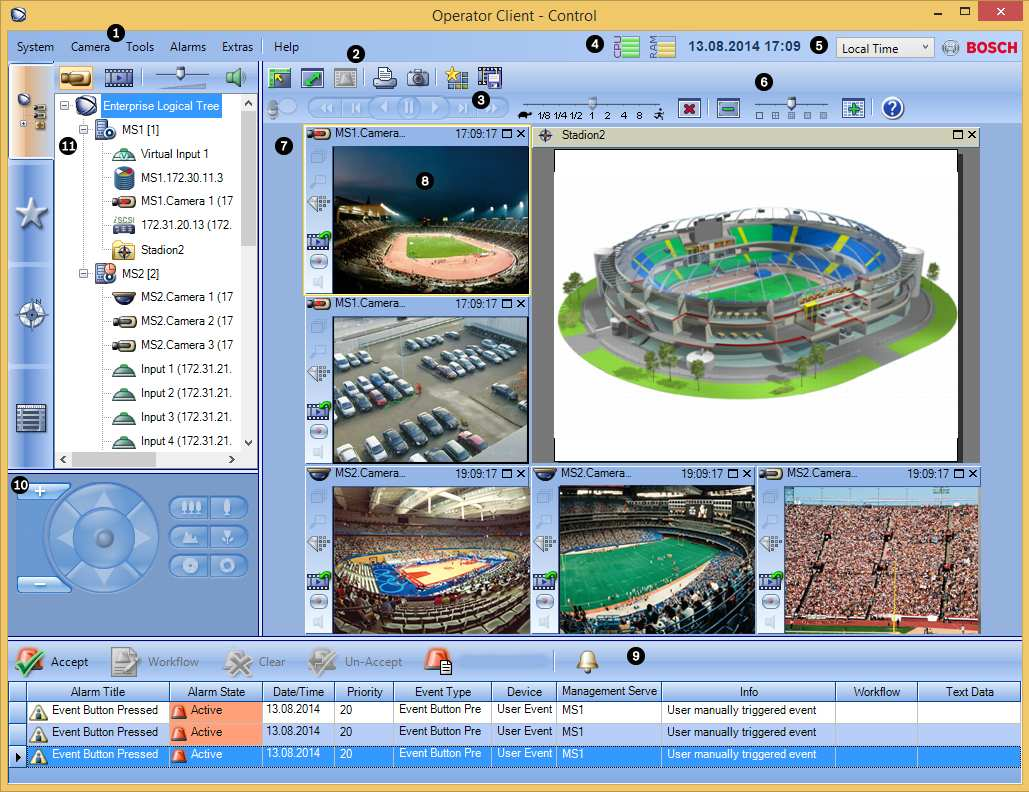 16 en Introduction Bosch Video Management System 2 Introduction Click the link to access the Open Source Software licenses used by Bosch VMS and the Mobile App: http://www.boschsecurity.