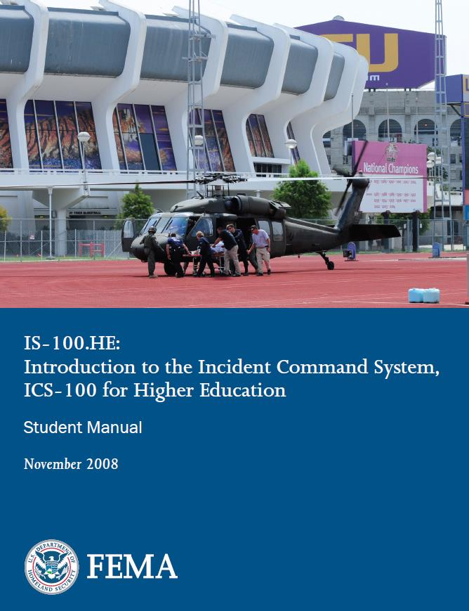 Command System, ICS-100, for