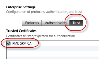 Click on Configure on the right side. Type the Network Name (SSID) into the Service Set Identifier field and select WPA / WPA2 Enterprise from the Security Type dropdown menu.