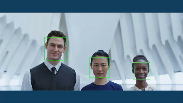 AREMA im Sicherheitsbereich als Forensisches Multimediaportal Gesichtserkennung mit OpenCV AREMA has, besides a scene-based key frame extraction, an own face recognition based on OpenCV Faces are