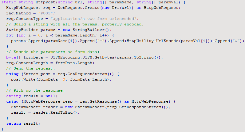 Using REST in C# (cont.