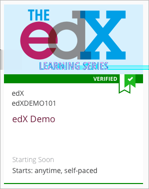 For a list of all courses that offer verified certificates, see the edx course catalog. Verified certificates are available for a fee that varies by course. The fee helps support edx.