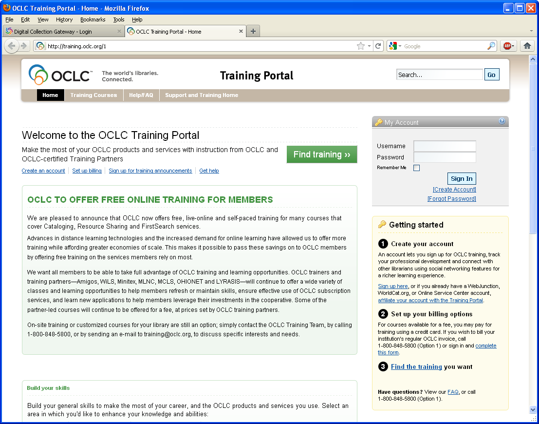 Live online CONTENTdm training available at no cost, by OCLC Free