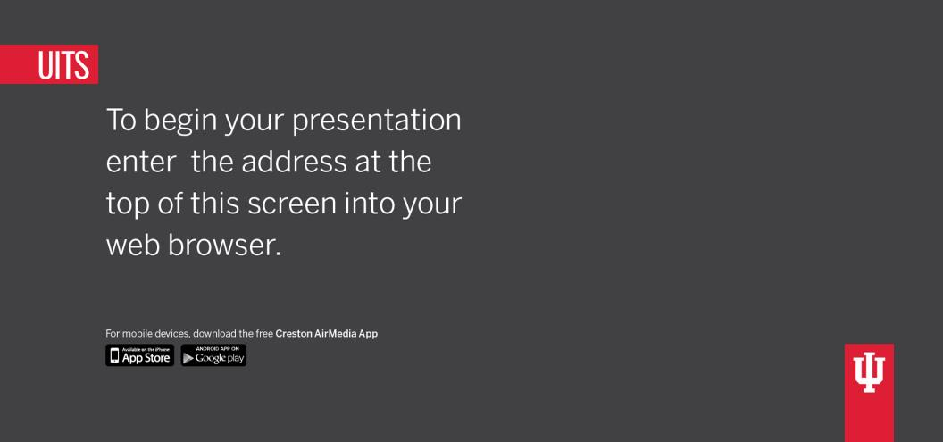 1 Initial Setup Present Anything Without Wires Bring your own device to a meeting or collaboration session and share your content through the big screen without hooking up any wires.