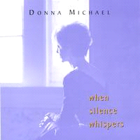 Feature CD: Meditation Music When Silence Whispers This serene instrumental CD is a beautifully quiet stream-of-consciousness piano creation entitled When Silence Whispers.