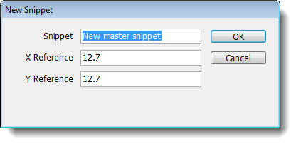 3.6 Creating Master Snippets To create a folder for your master snippets: 1. Click Add a folder to create a new folder or select an existing folder in the Snippets library section. 2.