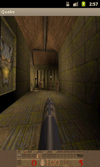 CHAPTER 6: 3D Shooters for Quake 231 08-10 14:51:05.602: DEBUG/QSound(335): SNDDMA_Init Speed 22050 channels 2 08-10 14:51:05.602: INFO/SYSLinux(335): Sound sampling rate: 22050 08-10 14:51:06.