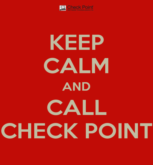 Look for Help Check Point DDoS Solutions include access to DDoS Specialists when under attack!