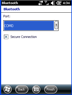 7. Choose port number for added device.