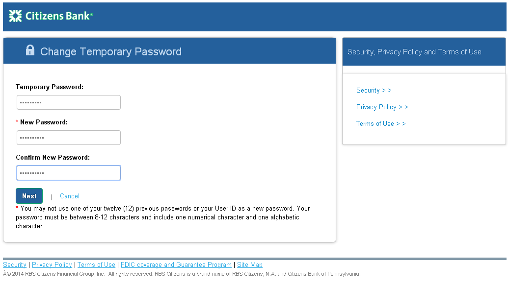 The ACHieve Access Login Page The initial ACHieve Access User Login screen is shown below.