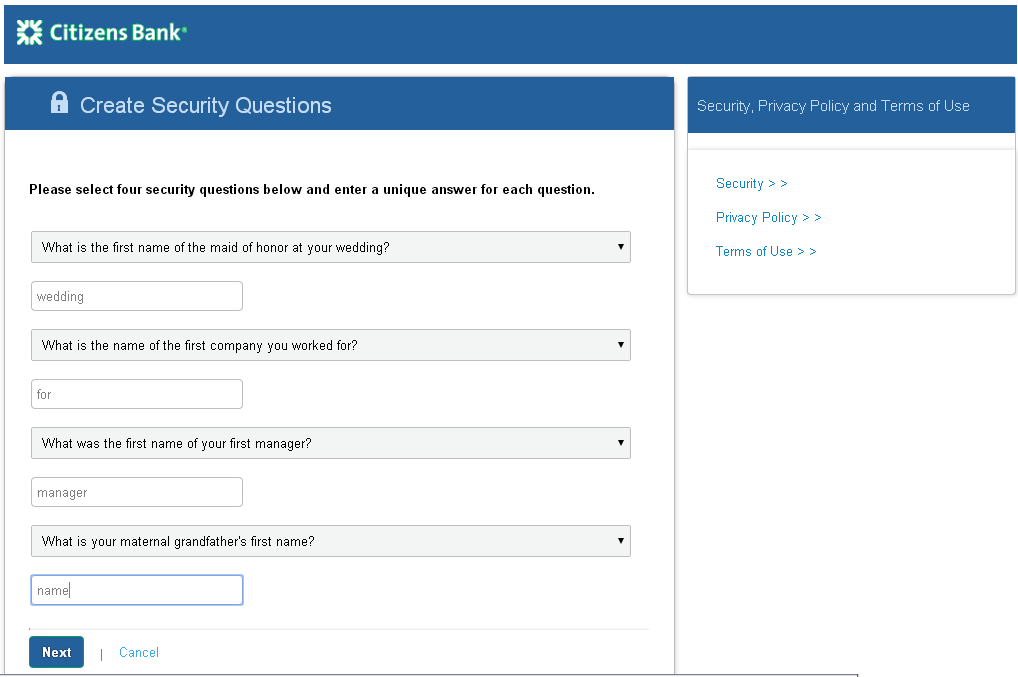 The ACHieve Access Multifactor Authentication Page Overview The ACHieve Access Multi-Factor Authentication allows the flexibility for a number of challenge questions to be set up to be chosen by each