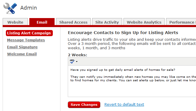 Lesson 3: eedge Setup Your Email Settings As you saw during the activation process, your eedge account come