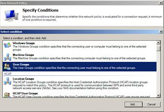 Installing the NPS and RADIUS Roles on Windows Server 2008 4. Check that the Grant access radio button is selected. 5.