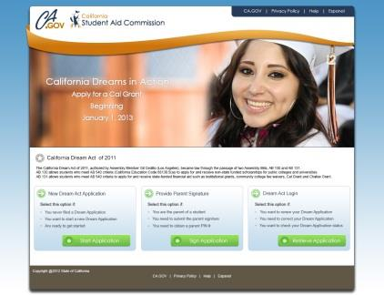 complete the California Dream Act Application: www.caldreamact.org Don t wait until March 2!
