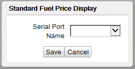 Commander Site Controller User Reference Fuel Price display a. Click to Enable Channel. b. Assigns the Commander Site Controller serial port to be used for the Channel. c. Select Dispenser type. d. Specify Total fueling positions on this channel.