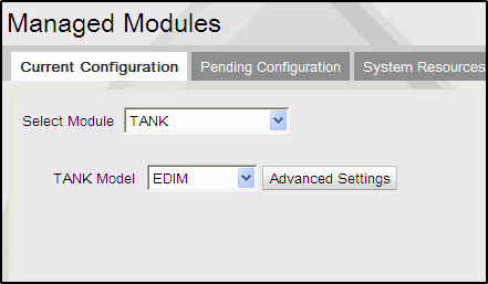 Other Configuration e. End DCR #: 33-64 3. Click Advance Settings of Gilbarco Device 1 Tank Click to enable DCR Positions.