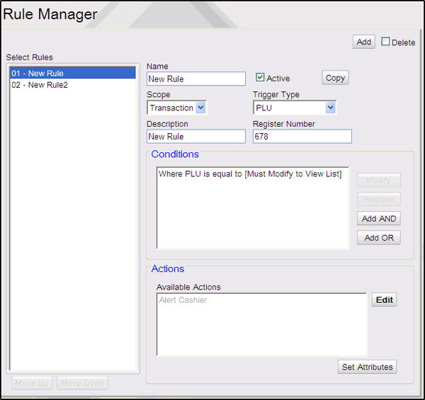 Commander Site Controller User Reference Refresh Configuration After any changes are made to Car Wash, POP, or Network parameters including Loyalty, the command Tools > Refresh Configuration needs to