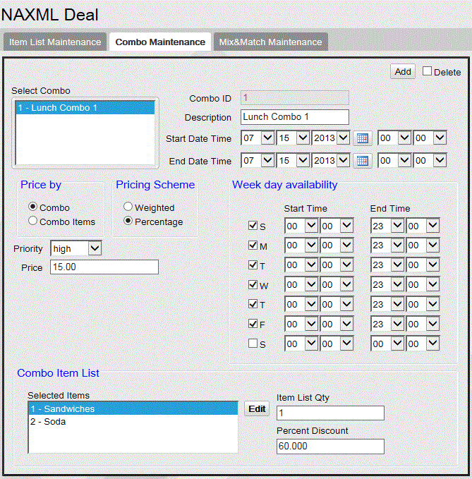 Commander Site Controller User Reference Note: Some options in the figure may change depending on the parameters selected.