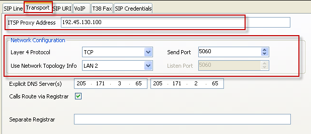 (Administrative screens is not shown) Select TCP from drop down menu Select 5060 from drop down menu Layer 4