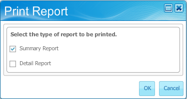 32 Attachment Instructions: 1. Create the Travel document in TEM. 2. Open the Travel Authorization report. 3. Choose the Print option at the bottom of the screen. 3. Leave the default Summary Report selected and click OK to open the report.