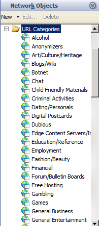 pptx URL categories Microsoft divided the dynamic URL database into categories.