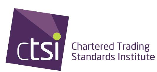 In offering this advice the CTSI wishes to make it clear that: Legislation may change over time and the advice given is based on the information available at the time the guidance was produced.