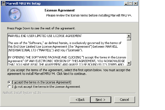 Step 3 The End User License Agreement (EULA)