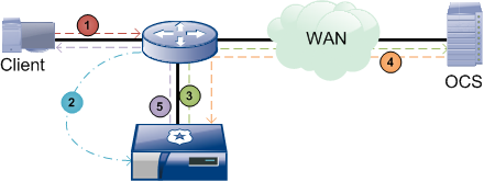 Using WCCP with the ProxySG WCCP Concepts Using WCCP with the ProxySG When the ProxySG appliance is not in the physical path of clients and servers, it must rely on an external device either a Layer