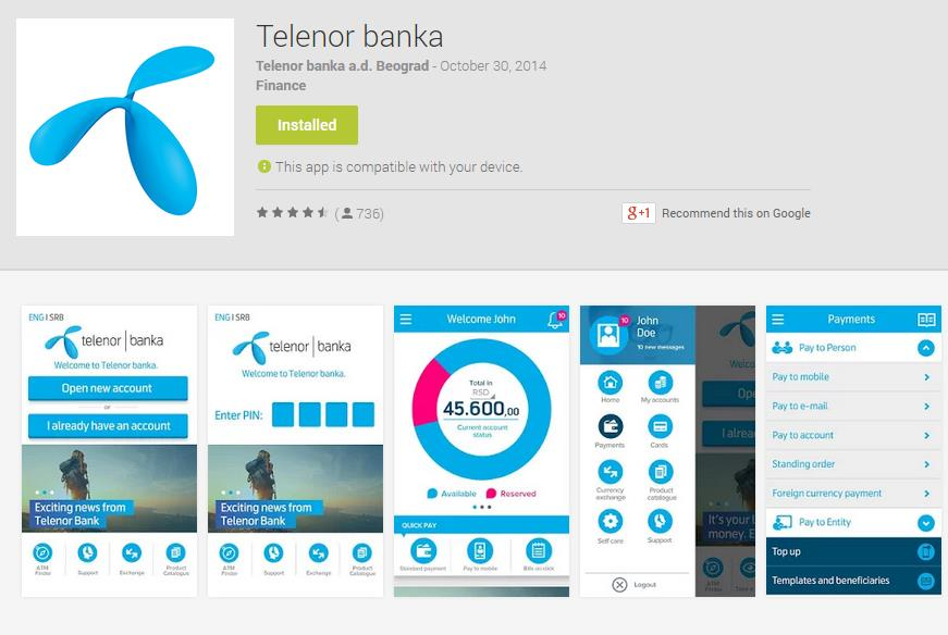 Our recent engagement Telenor Banka (Serbia) first fully mobile bank in SEE successfully launched in September 2014 Asseco SEE consultancy