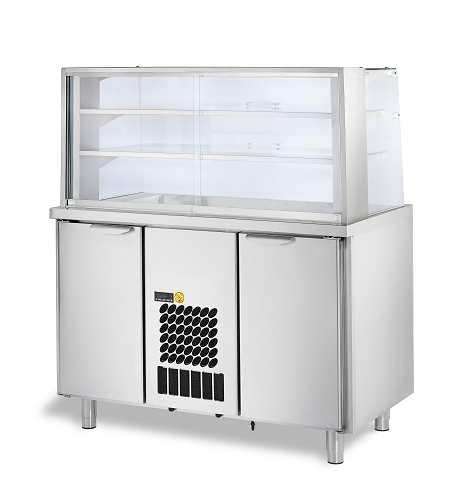 TECHNICAL DATA E-PRO COLD UNITS Refrigerated glass display units, CDDL, CDD and CDDH series The range of E-Pro cold units includes various types of refrigerated units and worktops.