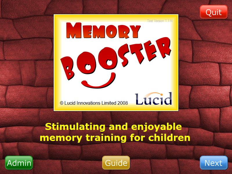 4. Registering Memory Booster You can now register the software through the Administration Module.