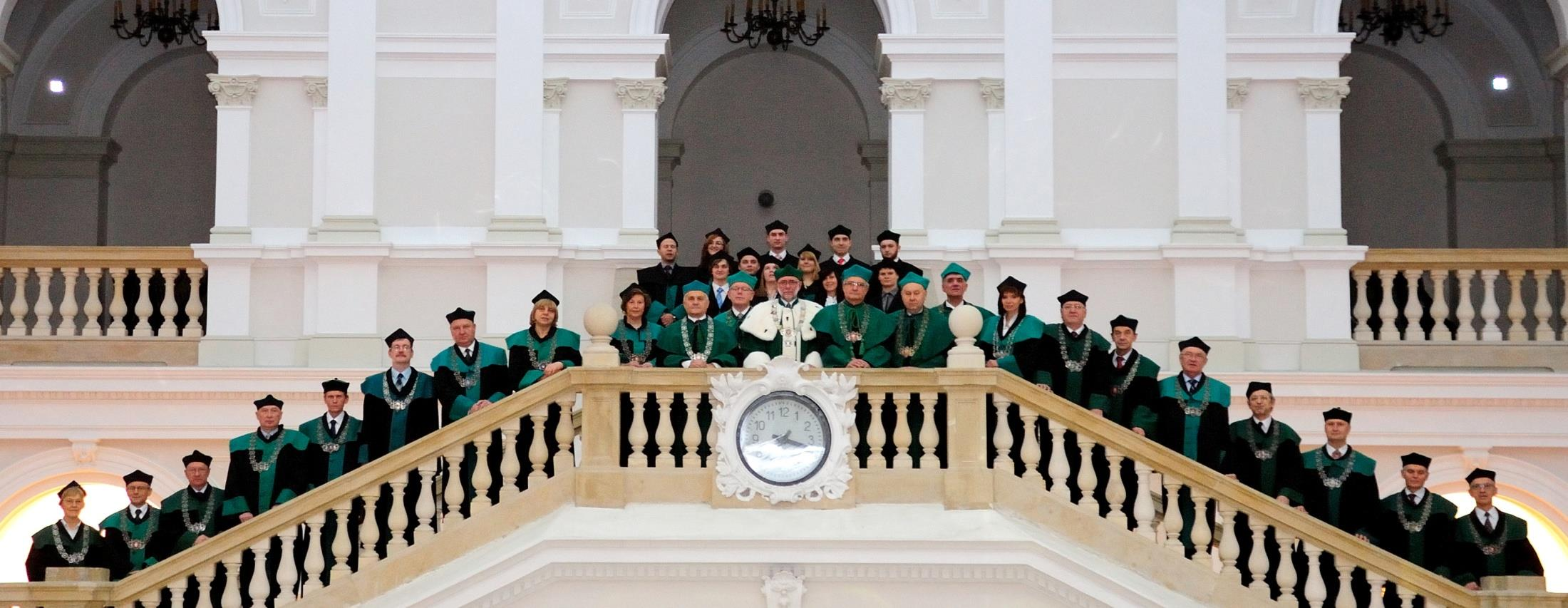 Chosen for a four-year term of office, the Rectors oversee the fulfilment of the Mission of Warsaw University of Technology, an