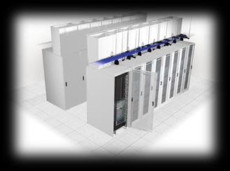 Panduit Energy Efficient DC Containment Allows higher data center set points and reduces cooling system energy consumption by up to