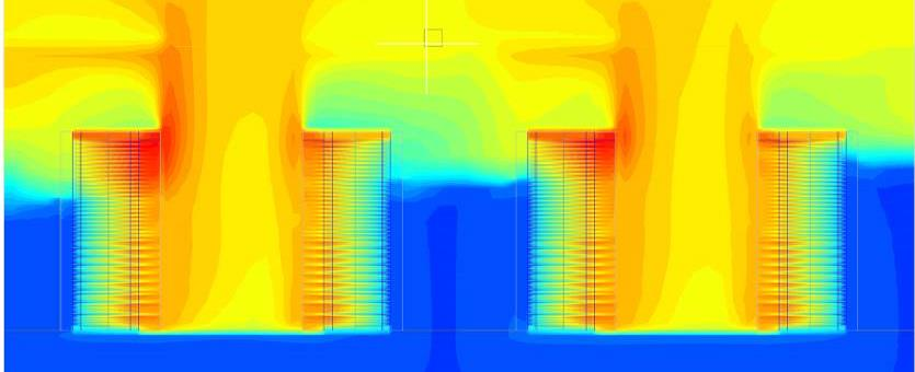 CFD Analysis of a VED Without VES Above Ceiling Hot Air Return