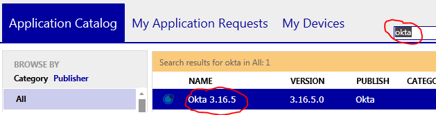 How to Install the Okta browser plugin (Internet Explorer) If your PC is participating in Next Generation Desktop (NGD) then please follow these five steps. 1. Open your Software Center 2.