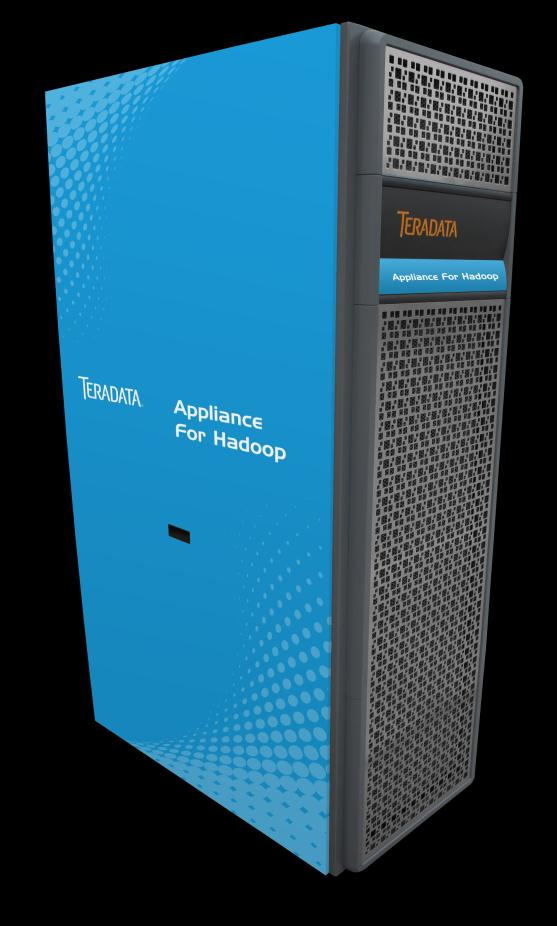 Teradata Vital Infrastructure Teradata Appliance for Hadoop Highlights Aster and Teradata SQL-H Teradata Studio with Smart Loader Value Added Software from Partners Teradata Viewpoint Teradata