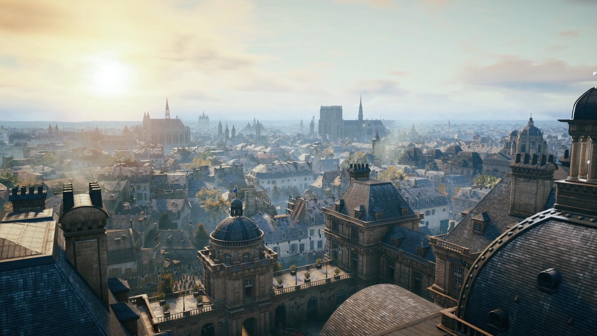 Motivation Assassin s Creed Unity Massive amounts of geometry: