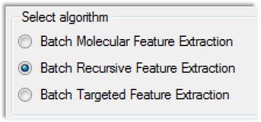 Profinder Workflows 1. Batch Molecular Feature Extraction - Reduces False Positives, No Editing 2.