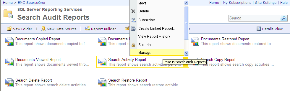 Customizing Reports Figure 130 In SQL Server 2008, click the report s Properties tab For SQL Server 2008 R2: a.