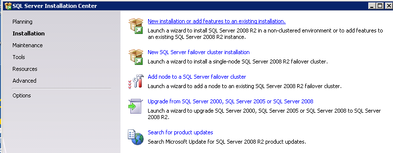 Installing EMC SourceOne Reporting Installing SQL Server Reporting Services This section describes a single-server, default instance deployment of SQL Server Reporting Services.