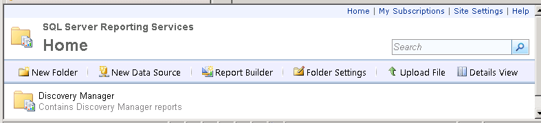 Installing EMC SourceOne Reporting Figure 48 Running ES1_DM_Reports_Setup.bat If the installation is successful, then you see messages confirming the installation of each report.