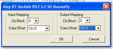 Configure Scanner Mode Chapter 2 Manually Map Block Transfer Data 1.