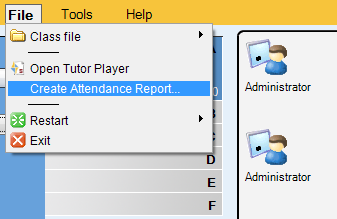 REMOVING STUDENTS To move a student from the class back to the corridor, rightclick a student icon and select Send to corridor. The student can then be selected to another class by another teacher.