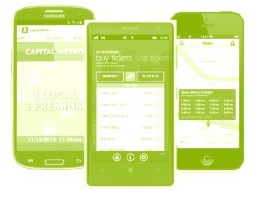 planner NFC & Smart tags Passenger info Which vision of
