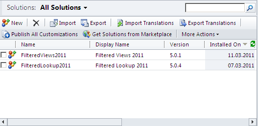 Installing the Filtered Lookup for Microsoft Dynamics CRM 2011 Download the Server and Offline Client Setup from the Donaubauer AG web site and extract the zip file into a new folder. Execute setup64.