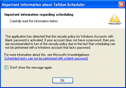 15 Installation Guide 1. Scheduler In order to set up schedules for you devices to automatically turn on and off run the program Scheduler under All Programs < Telldus < Scheduler.