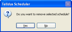 20 Installation Guide 4.1 Scheduled Devices Select desired scheduling.