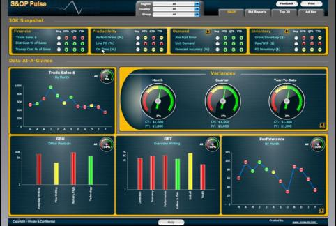 SAP BusinessObjects Dashboards Design Inspirational Dashboards Visualizations that can